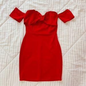 Red short formal dress Windsor size XS